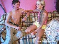 Pussylicking Action With Teagan, Brianna And Kristen - Milf Next Door