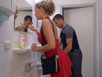 Buxom blonde is a nasty whore2