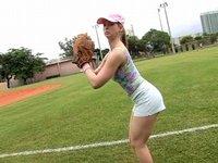 Oplodněná basebalistka