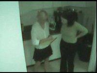 Skrytá kamera v kuchyni