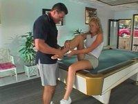 Zraněná tenistka