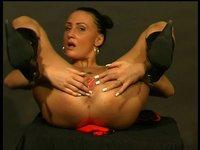 Big boobie mom sucking