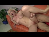Older woman cunt drilled