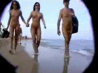Skrytá kamera na pláži