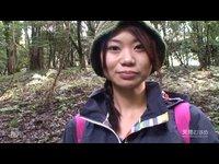 Japonka v lese