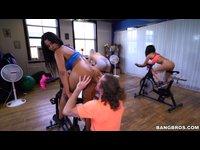 Sexy spinning