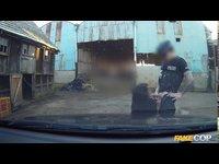 falesnej policajt zasahuje